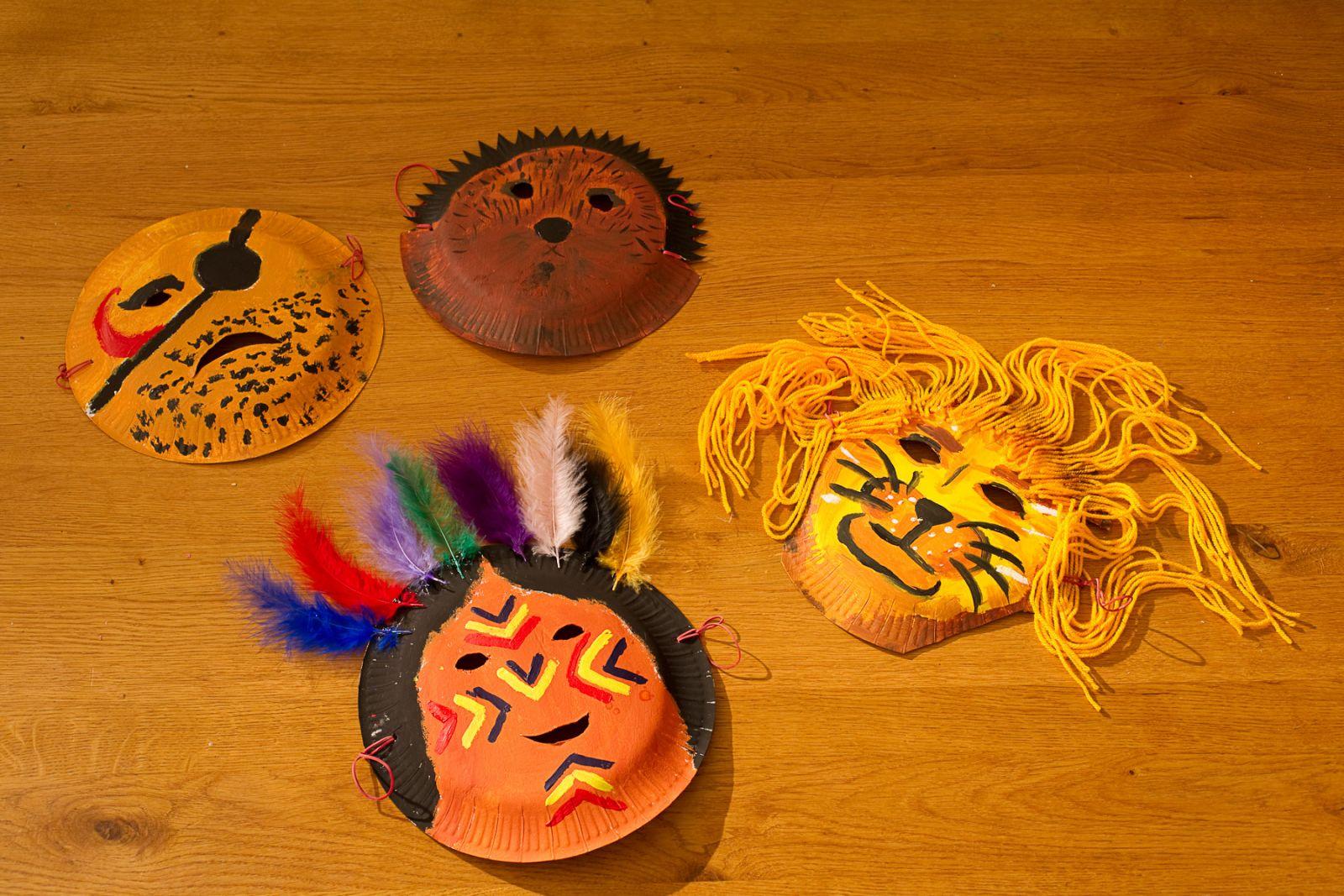 Lustige Masken Lingo Das Mit Mach Web